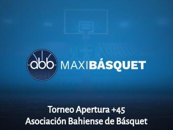 Fecha 3 Segunda Fase Torneo Apertura +45 de la ABB